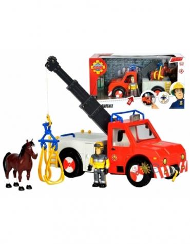 Strażak Sam Wóz Strażacki Pxoenix Fgurki - Simba