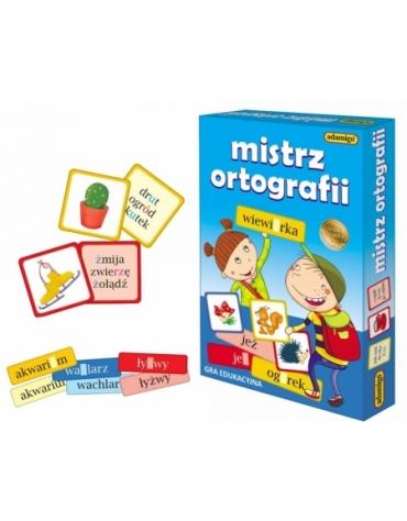 Gra Edukacyjna Mistrz Ortografii Zestaw Edukacyjny - Adamigo