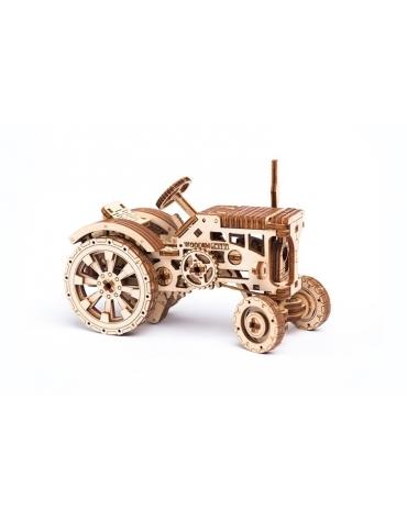 Drewniane puzzle mechaniczne 3D Wooden.City - Traktor T1
