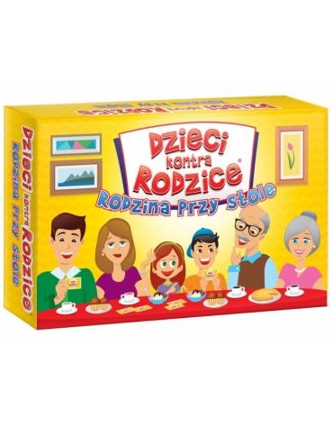 Gra rodzinna Dzieci kontra rodzice: Rodzina przy stole
