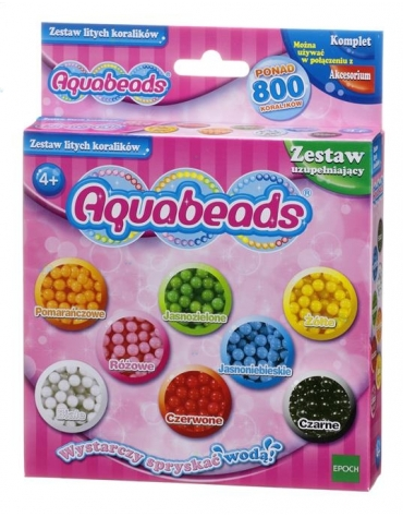 Aquabeads Zestaw litych koralików*