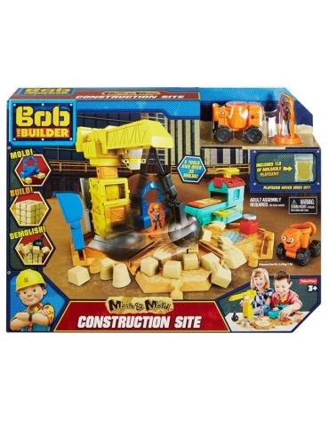 Bob Budowniczy Zestaw Plac budowy + kinetyczny piasek *