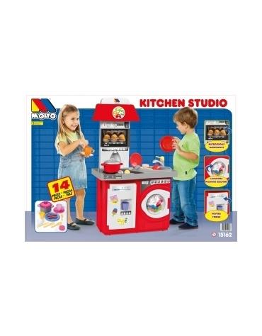 Kuchnia Kitchen Studio 14 el. czerwona S1