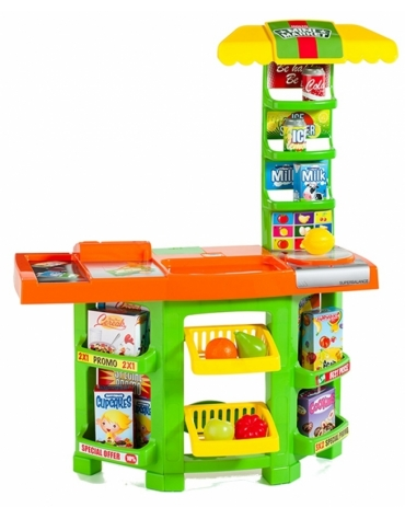 Mini market MOLTO 14 el. zielony S1