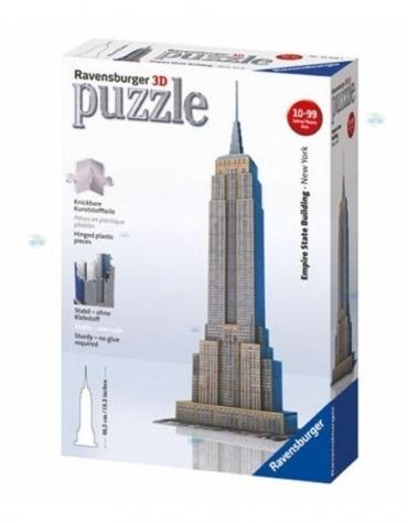 PUZZLE 3D 217el. EMPIRE STATE BUILDING REKLAMA TV