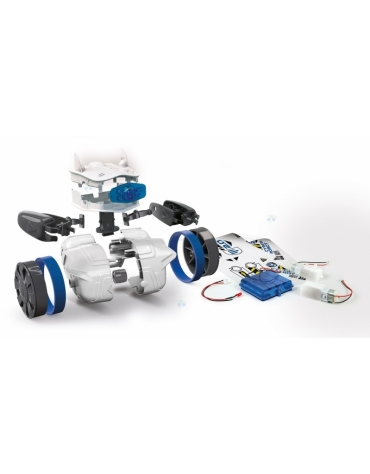 PROGRAMOWANY CYBER ROBOT BLUETOOTH REKLAMA TV