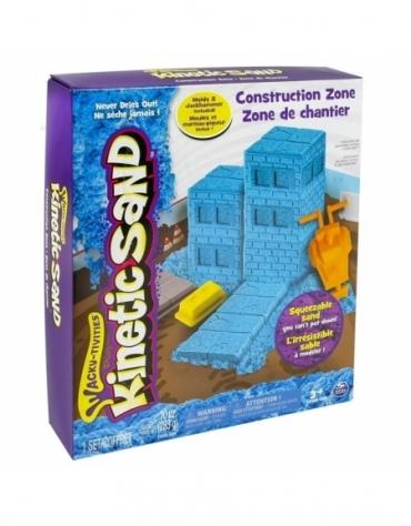 Kinetic Sand - Plac Budowy 283g *