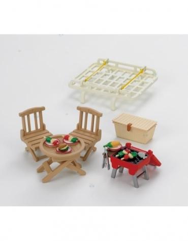 Sylvanian Families Bagażnik dachowy z zestawem piknikowym*