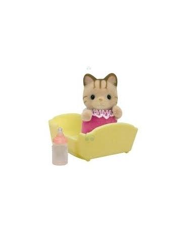 Sylvanian Families Dziecko pręgowanych kotków*