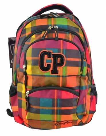 COOLPACK PLECAK MŁODZIEŻOWY COLLEGE SUNSET CHECK 2017
