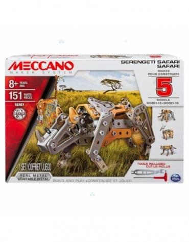Meccano Core - MULTI zestaw 5 modeli - safari *