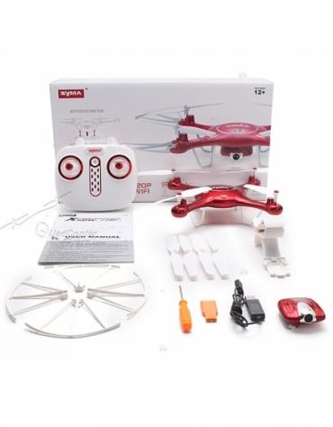 Dron RC Syma X5UW 2,4GHz kamera FPV Wi-Fi @E1