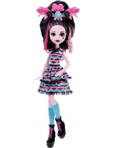 Monster High LALKA Wampistyczne fryzury Draculaury *
