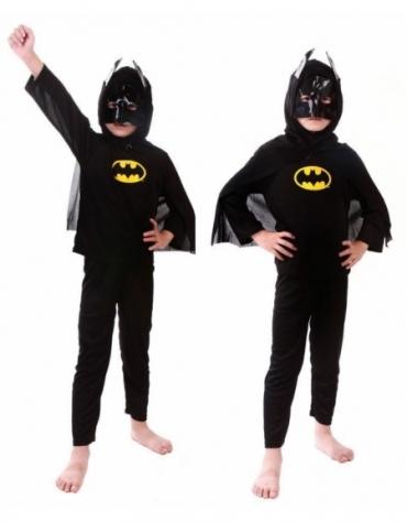 KOSTIUM BATMAN DLA 4 LATKA STRÓJ PRZEBRANIE @E1