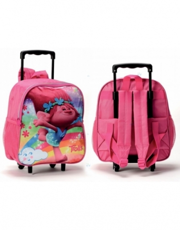 Trolle plecak z kółkami Trolls *