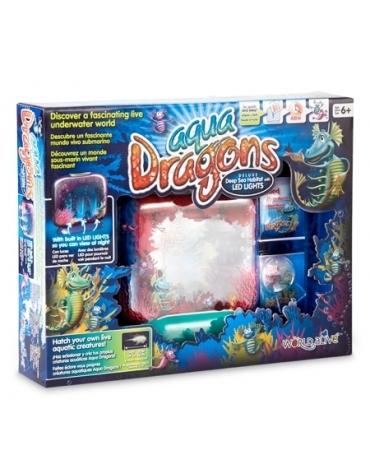Aqua dragons zestaw podstawowy z lampką LED 4003 S1 REKLAMA