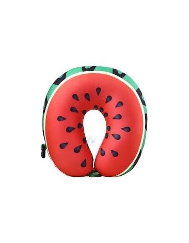 Poduszka podróżna memory pillow arbuz @E1
