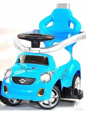 Jeździk odpychacz niebieski @N1