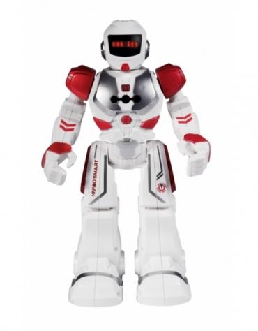 ROBOT KNABO SMART KOSMICZNY ZWIADOWCA + PILOT CZERWONY