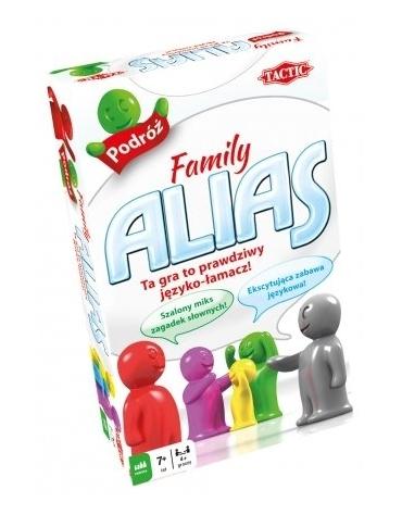 GRA EDUKACYJNA RODZINNA FAMILY ALIAS WERSJA PODRÓŻNA TACTIC