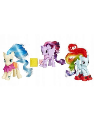 My Little Pony KUCYK 3w1 RAINBOW TWILIGHT MISS POMMEL