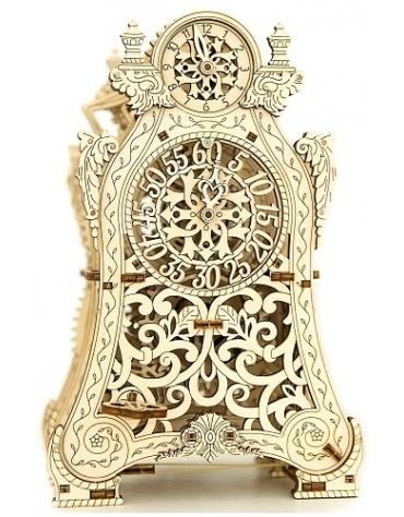 Drewniane puzzle mechaniczne 3D Wooden.City Magic Clock T1