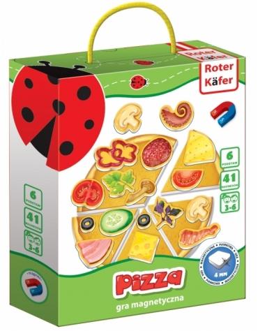 GRA MAGNETYCZNA PIZZA OD 3 LAT - ROTER KAFER