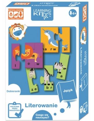 Learning Kids UKŁADANKA EDUKACYJNA - LITEROWANIE