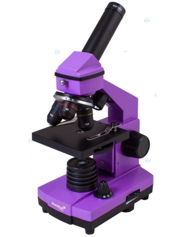 Mikroskop Levenhuk Rainbow 2L PLUS Amethyst\\Fioletowy M1