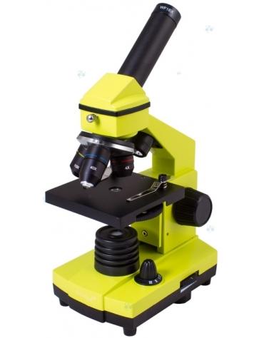Mikroskop Levenhuk Rainbow 2L PLUS Lime\\Limonowy  M1