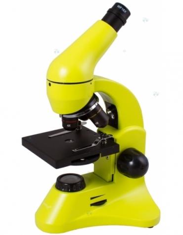 Mikroskop Levenhuk Rainbow 50L Plus Lime\\Limonowy  M1
