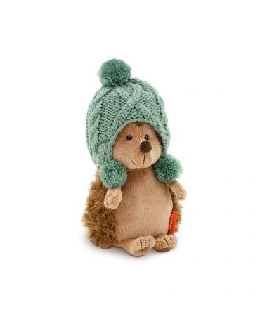 Przytulanka Jeżyk w zimowej czapce - 25cm TURKUSOWY T1