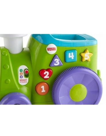 INTERAKTYWNY POCIĄG BEBO FISHER PRICE