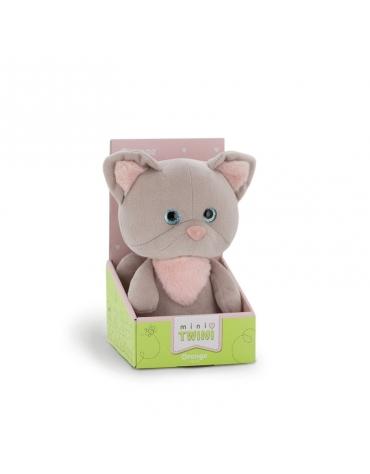 Przytulanka Mały Szary Kotek Mini Twini 25cm T1