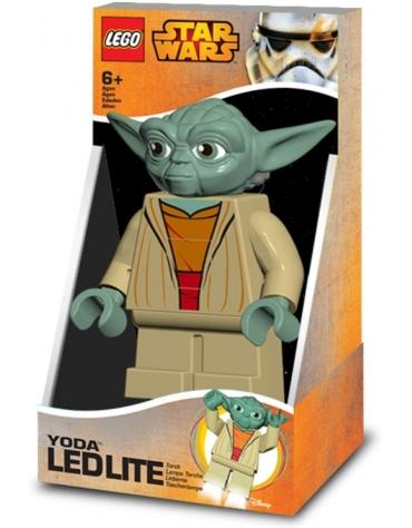LEGO STAR WARS FIGURKA YODA LATARKA LED