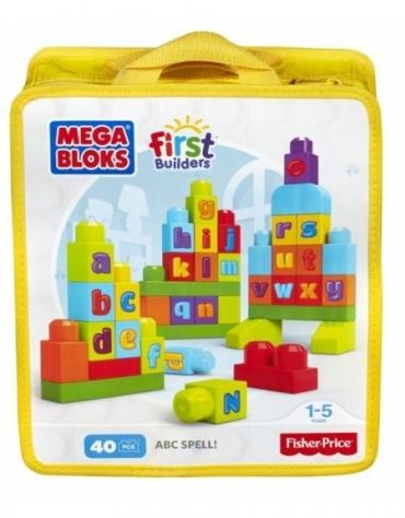 Mega Bloks First Builders Ćwiczymy ABC *