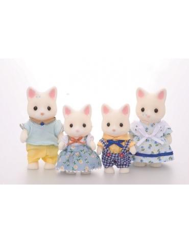 Sylvanian Families Rodzina jedwabistych kotków*