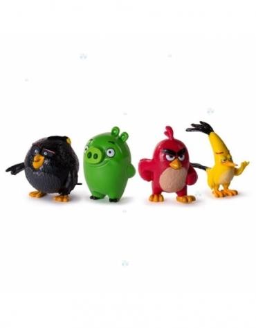 Angry Birds - Figurki Kolekcjonerskie Czteropak *
