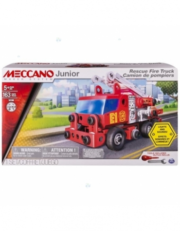 Meccano Junior - wóz strażacki deluxe *