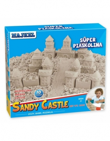 SANDY CASTLE SUPER PIASKOLINA ZAMEK PIASEK