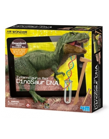 DINOSAUR DNA TYRANOZAUR REX WYKOPALISKA