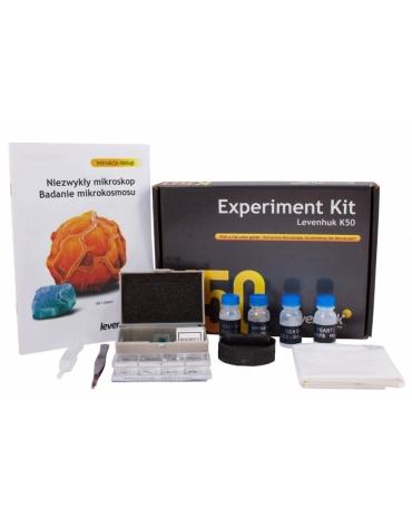 Zestaw do eksperymentów Levenhuk K50 M1