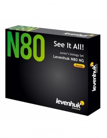 Zestaw preparatów Levenhuk N80 - Zobacz wszystko @M1