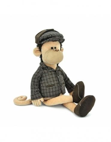 Przytulanka Małpka Sherlock - 40cm @T1